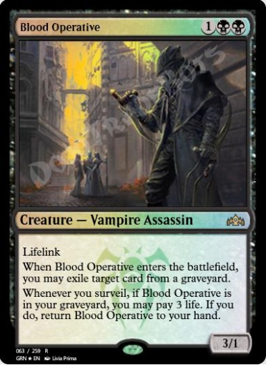 Blood Operative FOIL