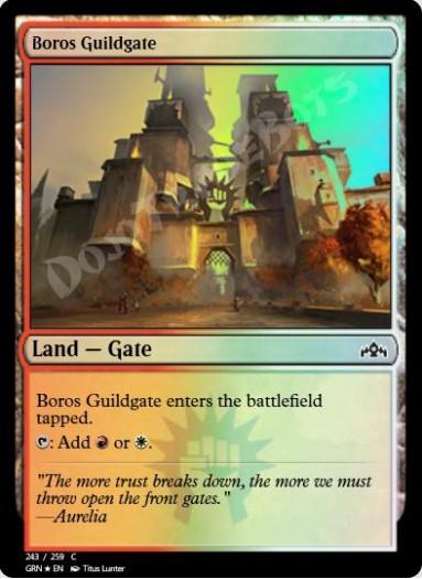 Boros Guildgate (#243) FOIL
