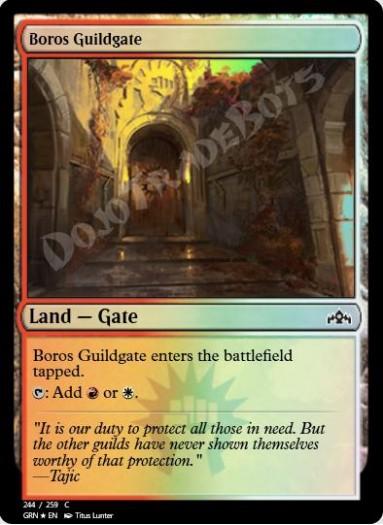 Boros Guildgate (#244) FOIL