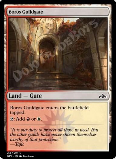 Boros Guildgate (#244)