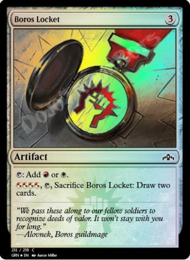 Boros Locket FOIL