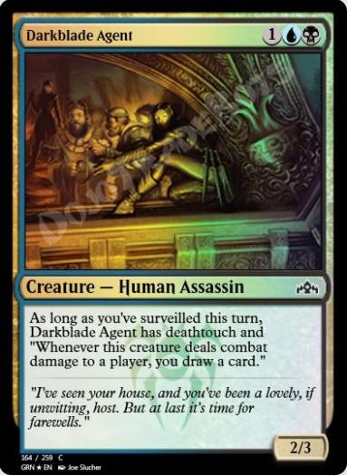 Darkblade Agent FOIL