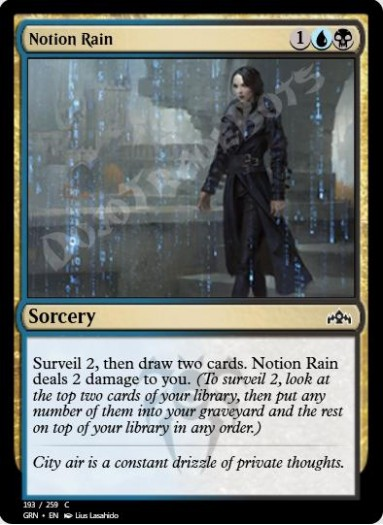 Notion Rain