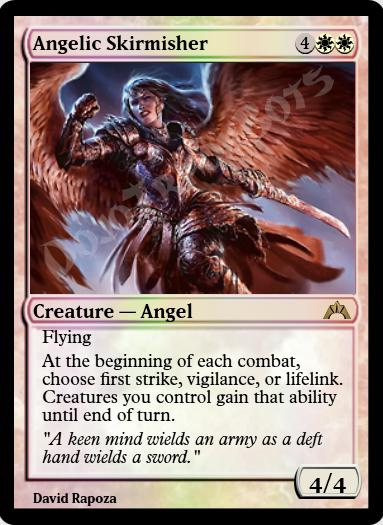 Angelic Skirmisher FOIL
