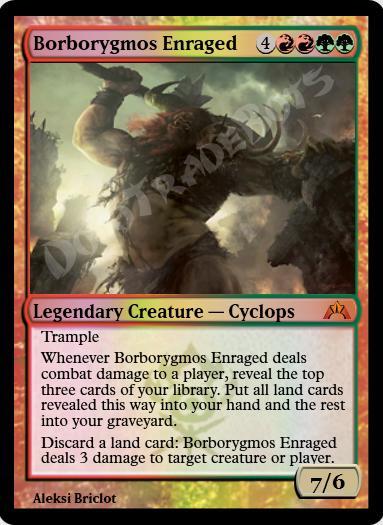Borborygmos Enraged FOIL