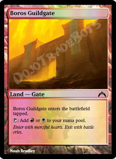 Boros Guildgate FOIL