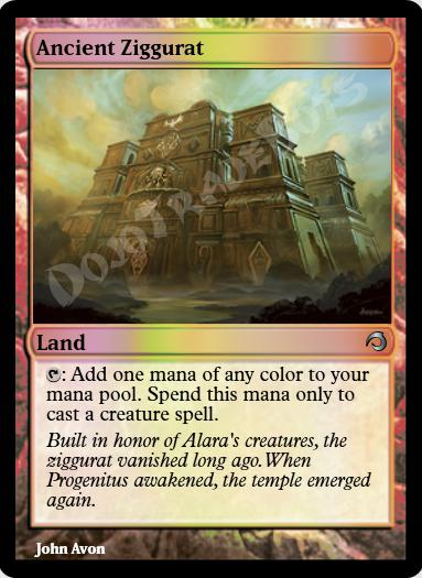 Ancient Ziggurat FOIL