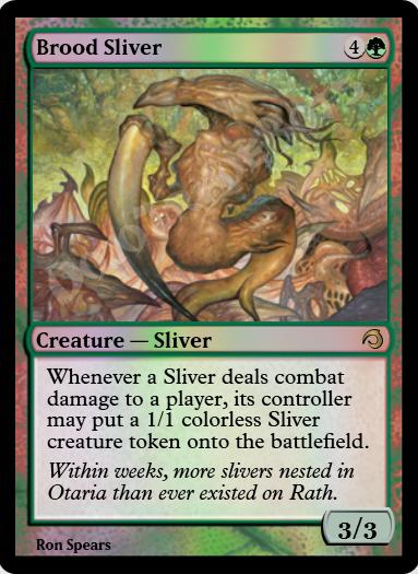 Brood Sliver FOIL