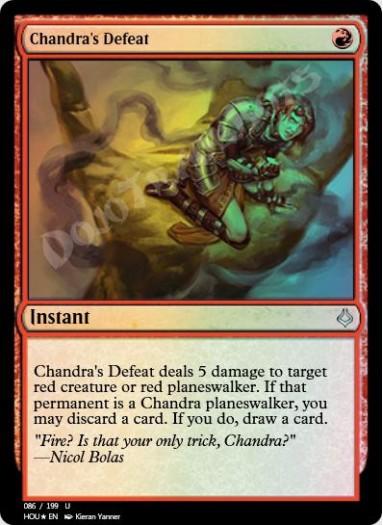 Chandra's Defeat FOIL