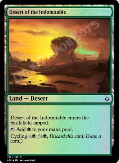 Desert of the Indomitable FOIL