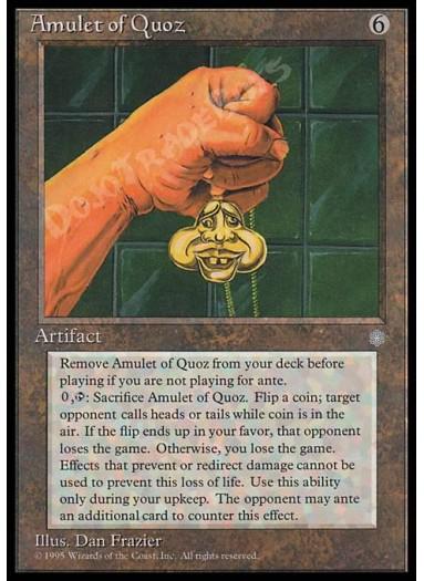 Amulet of Quoz FOIL