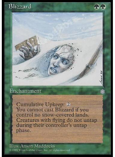 Blizzard FOIL