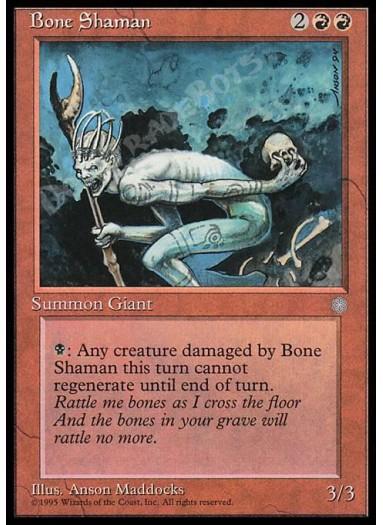 Bone Shaman FOIL