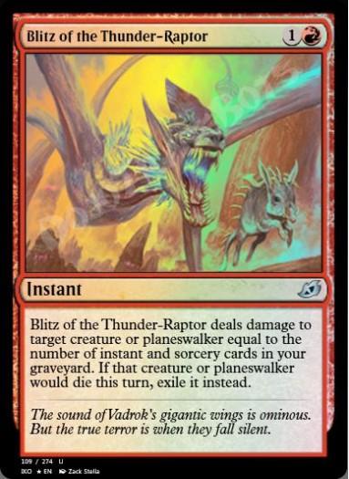 Blitz of the Thunder-Raptor FOIL