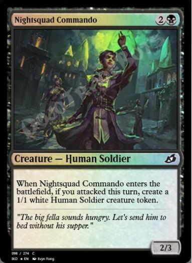 Nightsquad Commando FOIL