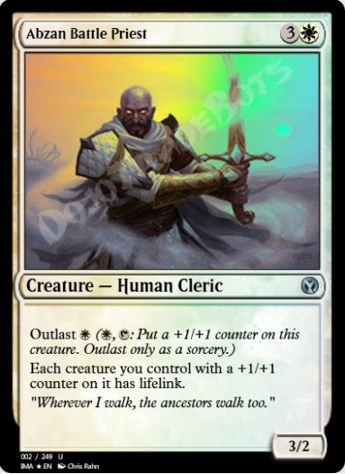 Abzan Battle Priest FOIL