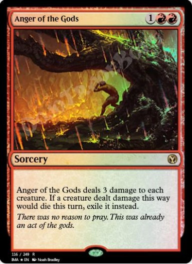 Anger of the Gods FOIL