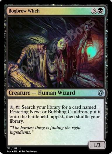 Bogbrew Witch FOIL