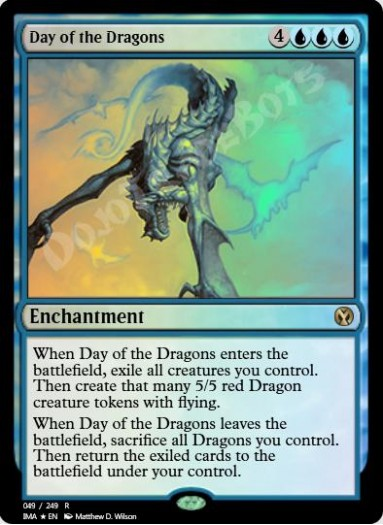 Day of the Dragons FOIL