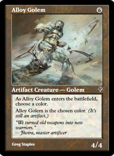 Alloy Golem