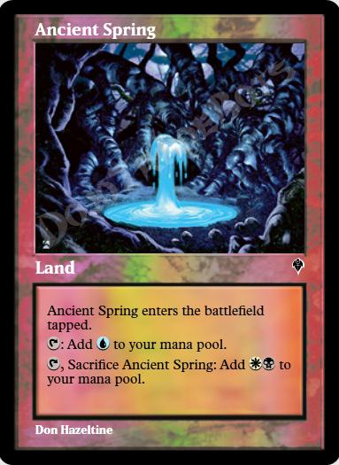 Ancient Spring FOIL