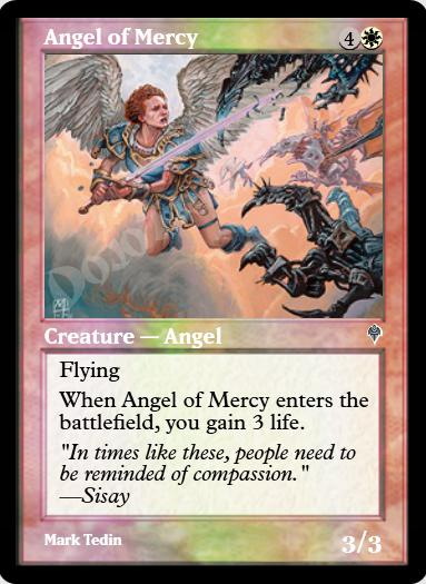 Angel of Mercy FOIL