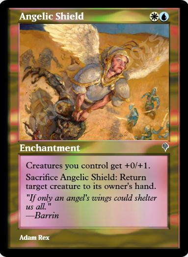 Angelic Shield FOIL