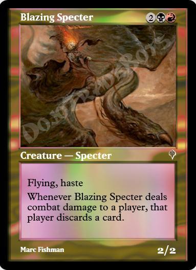 Blazing Specter FOIL
