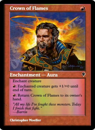 Crown of Flames FOIL