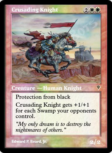 Crusading Knight FOIL