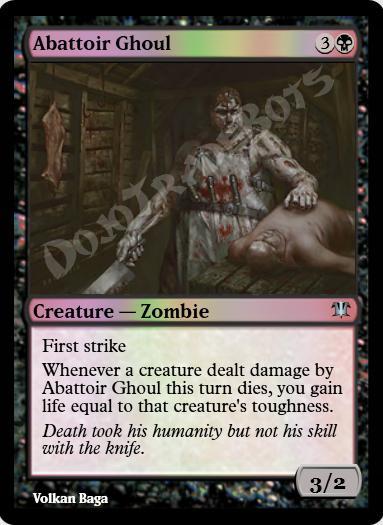 Abattoir Ghoul FOIL
