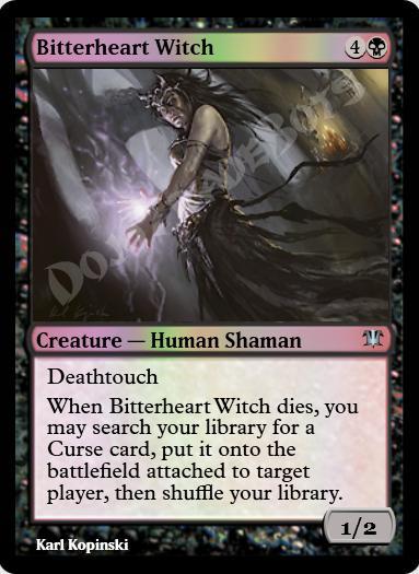 Bitterheart Witch FOIL