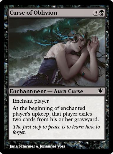 Curse of Oblivion