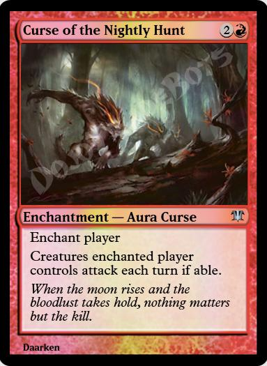 Curse of the Nightly Hunt FOIL