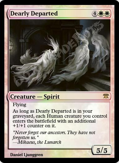 Dearly Departed FOIL