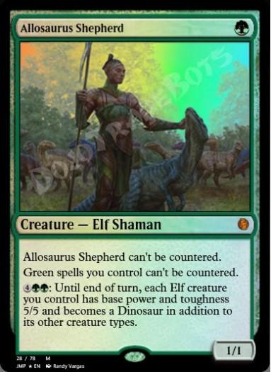 Allosaurus Shepherd FOIL