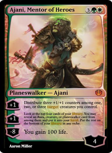 Ajani, Mentor of Heroes FOIL