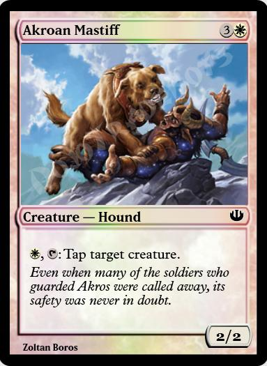Akroan Mastiff FOIL