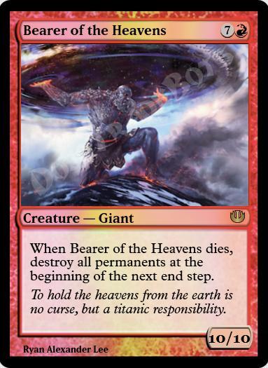 Bearer of the Heavens FOIL
