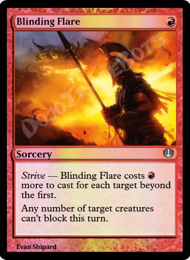 Blinding Flare FOIL