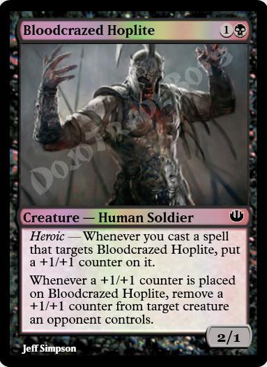 Bloodcrazed Hoplite FOIL