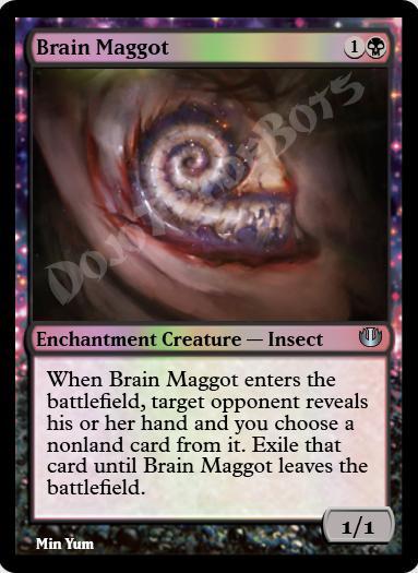 Brain Maggot FOIL