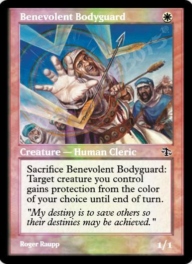 Benevolent Bodyguard FOIL