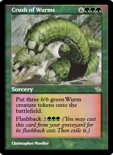 Crush of Wurms FOIL