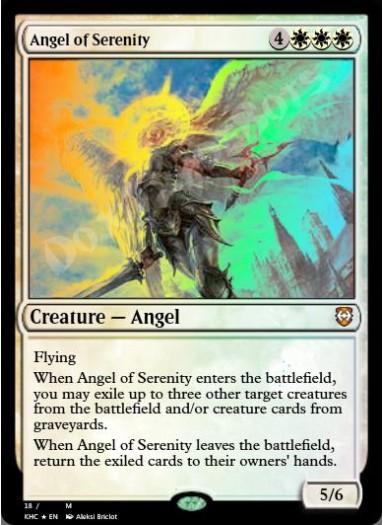 Angel of Serenity FOIL