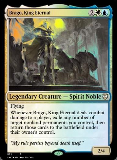 Brago, King Eternal FOIL