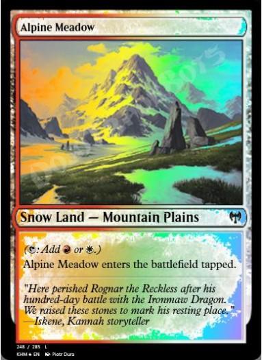 Alpine Meadow FOIL