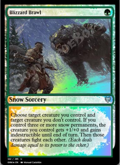 Blizzard Brawl FOIL