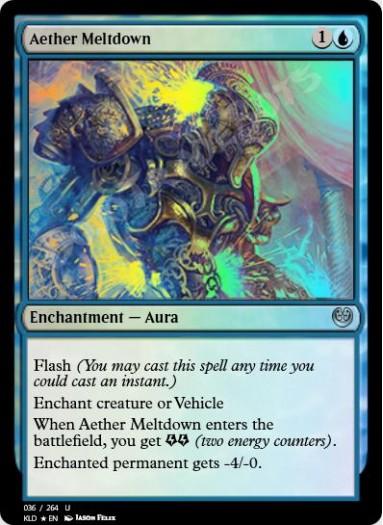 Aether Meltdown FOIL
