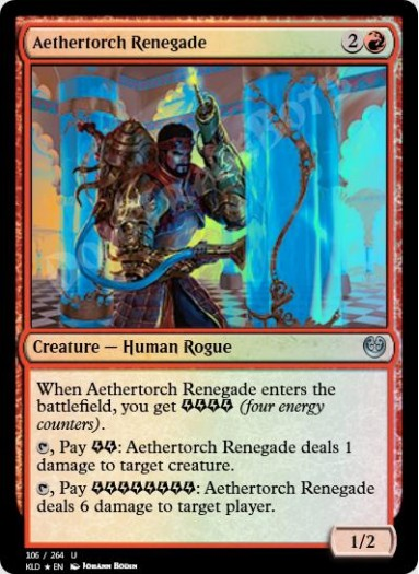 Aethertorch Renegade FOIL